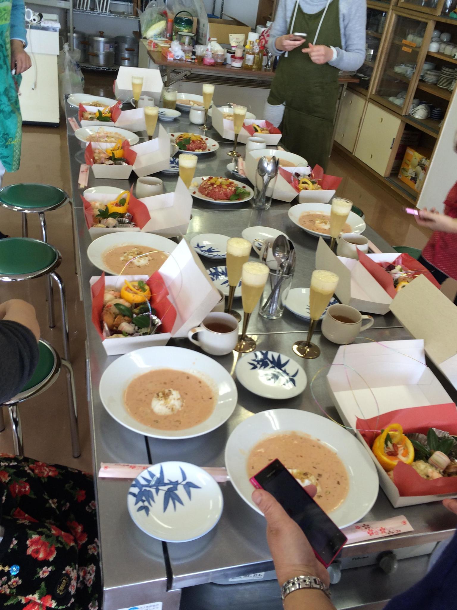 薬膳Labo Paeon(鳥取県米子市)のレッスン風景