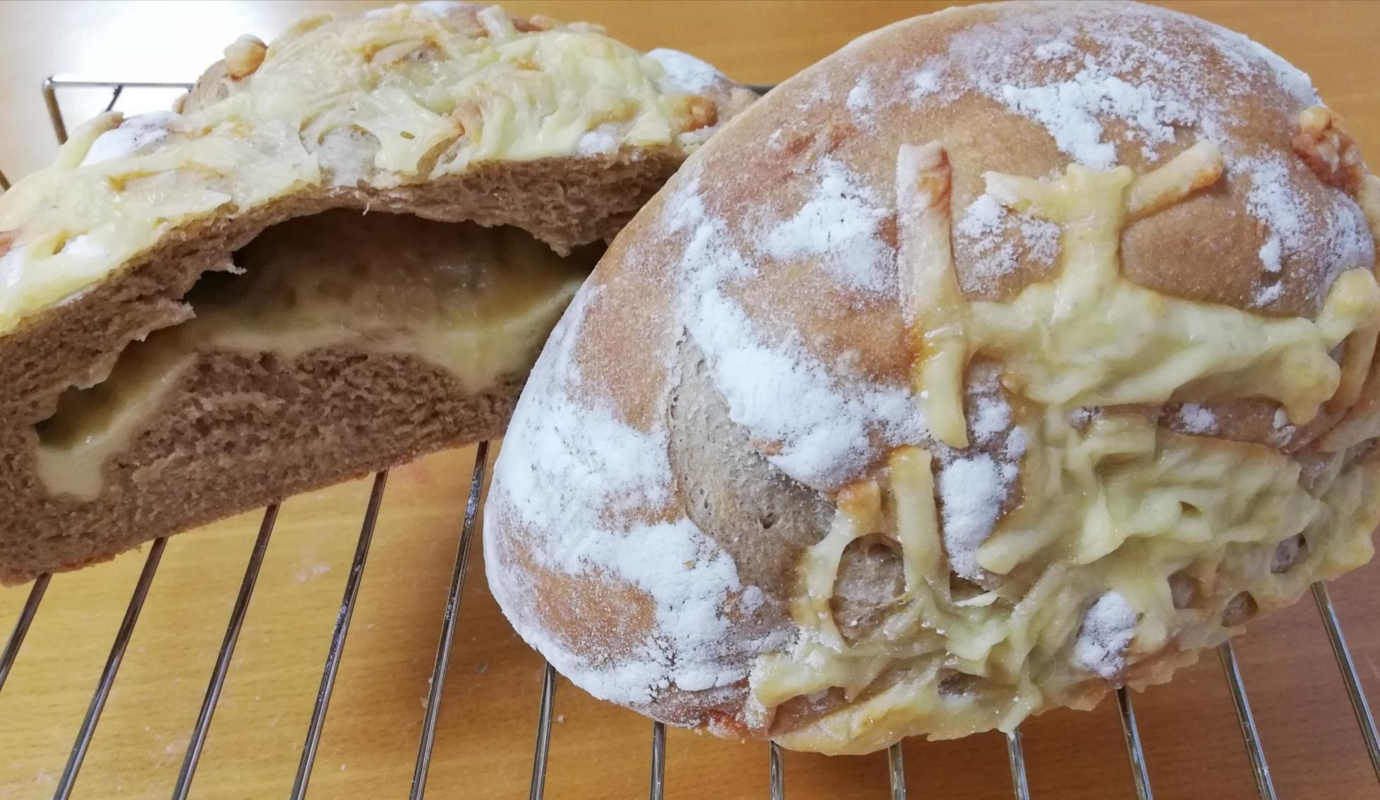 チーズカンパーニュor動物ちぎりパン開催 柏市 Chigubebe自宅でパン