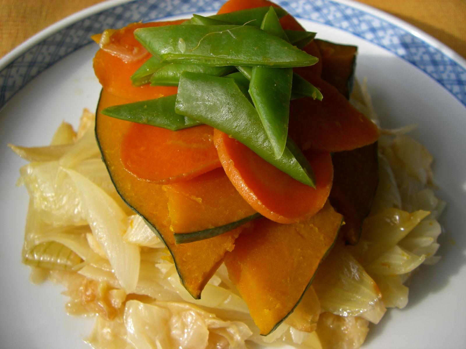 野菜蒸し煮
