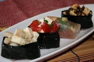 モッツァレラチーズのお寿司