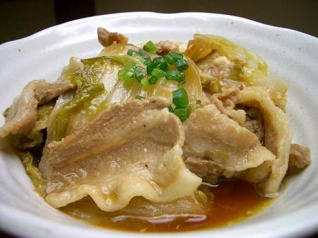 白菜 レシピ 豚肉