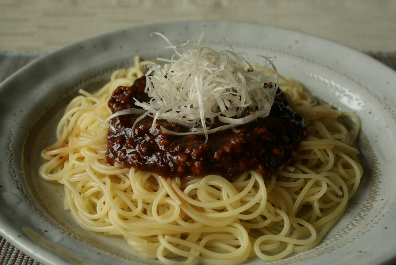 葱味噌パスタ