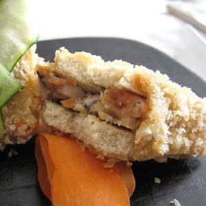 高野豆腐のはさみ揚げ