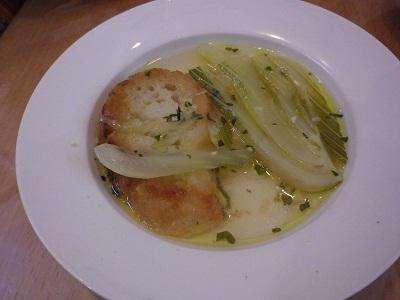 Zuppa di Finocchio   胃に優しいフェンネルスープ