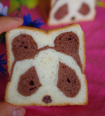 パンでパンダちゃん(*^_^*)