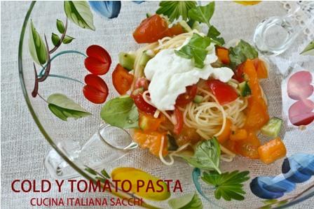 冷製トマトスパゲッティー