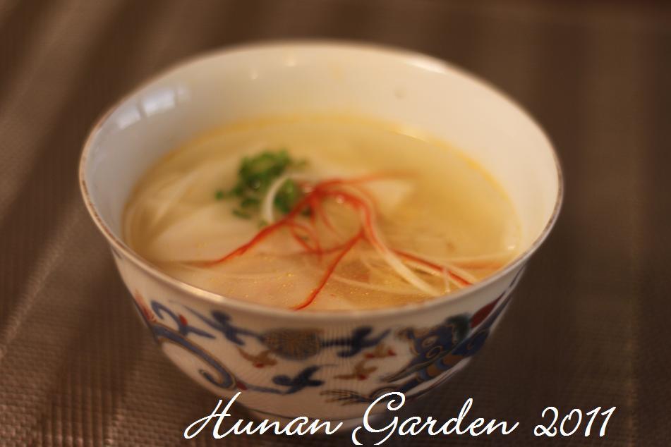 韓流 水餃子スープ