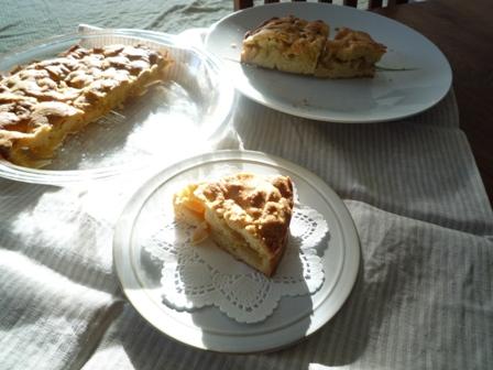 林檎の簡単ケーキ