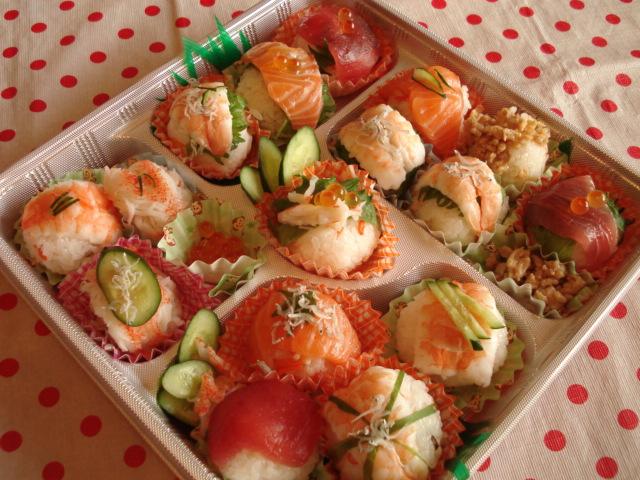 ☆手まり寿司☆