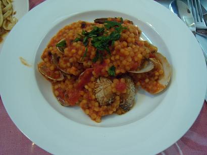 イタリア料理 粒つぶパスタ