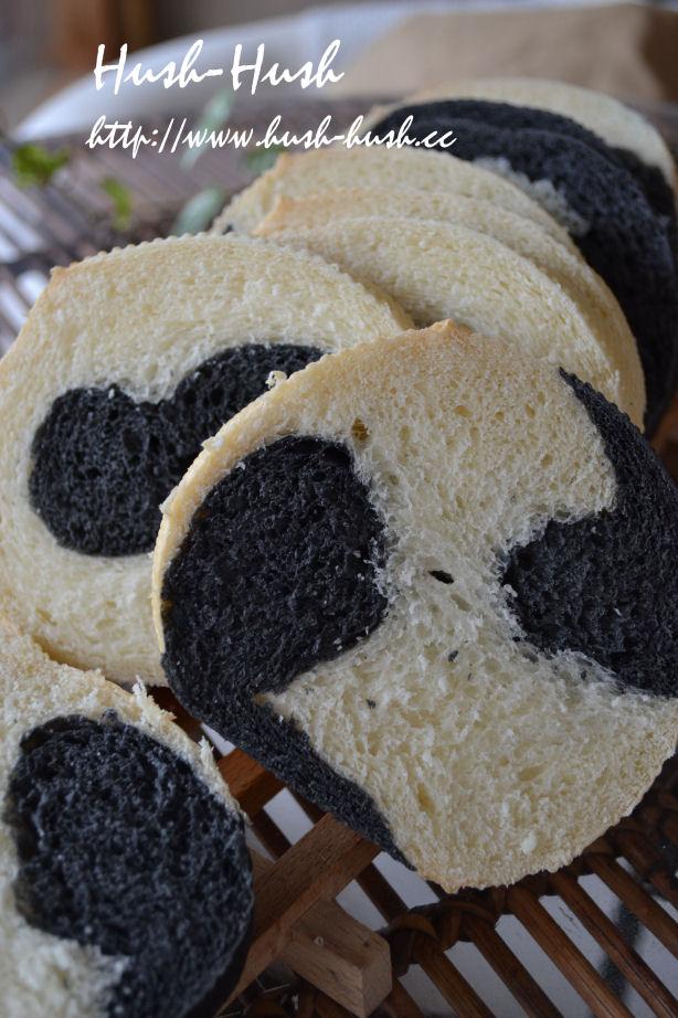 ★ブラック&ホワイト食パン★パンダ?!