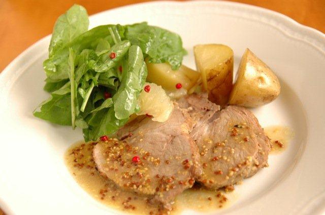 豚ロースのポットロースト ローズマリー風味