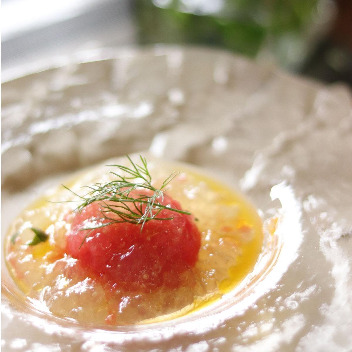 丸ごとトマトのジュレサラダ
