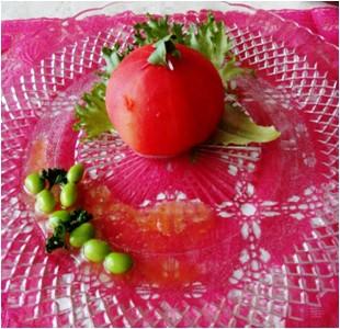 まるごとトマトの白雪姫サラダ