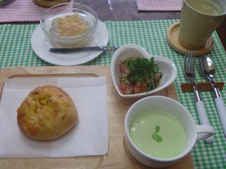 枝豆のヘルシースープ ^ ^