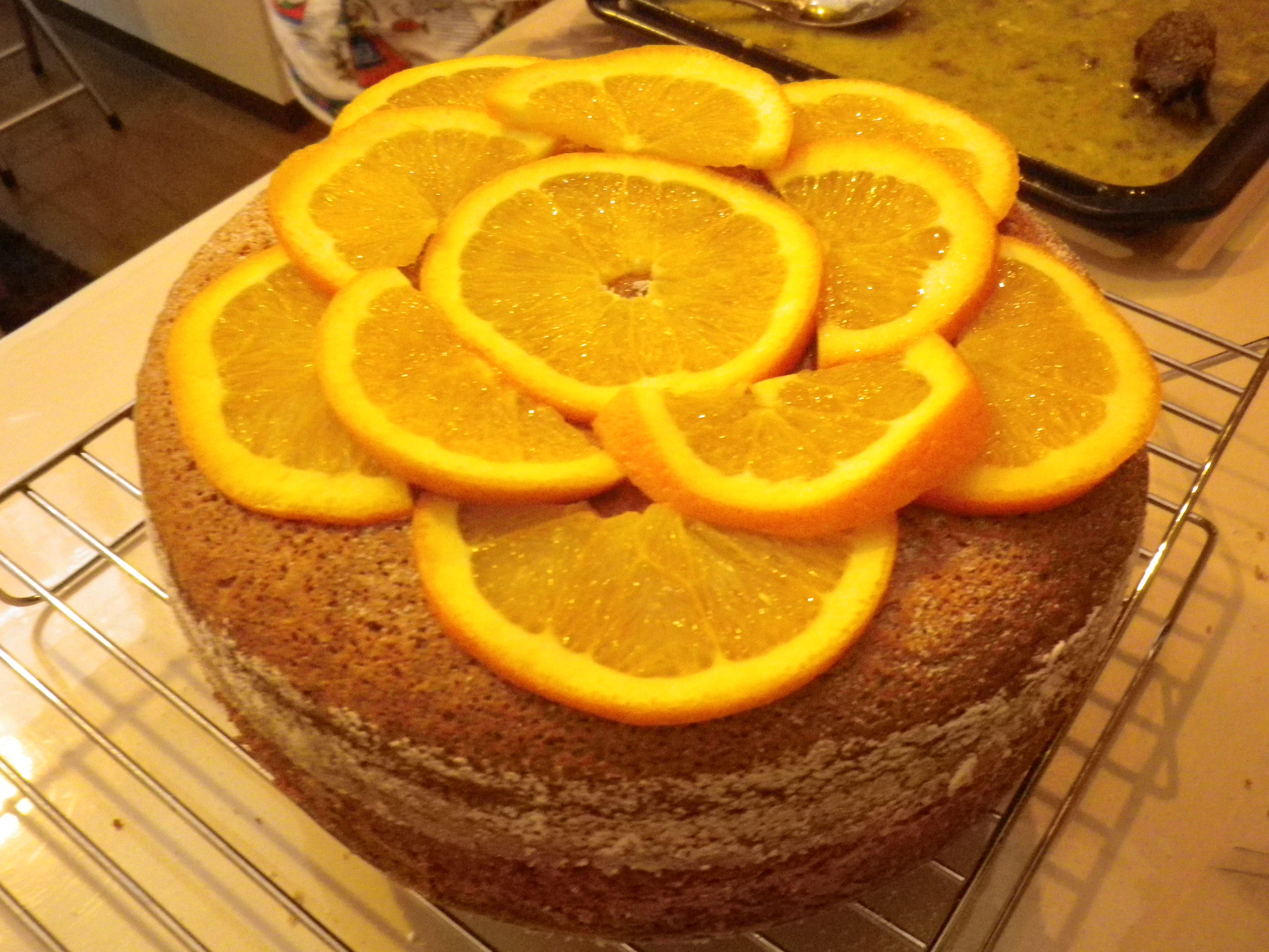 イタリア伝統料理:オレンジのチャンベッラ