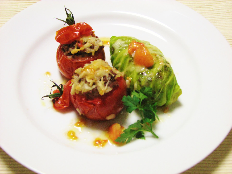 野菜のスパイシーライス詰め