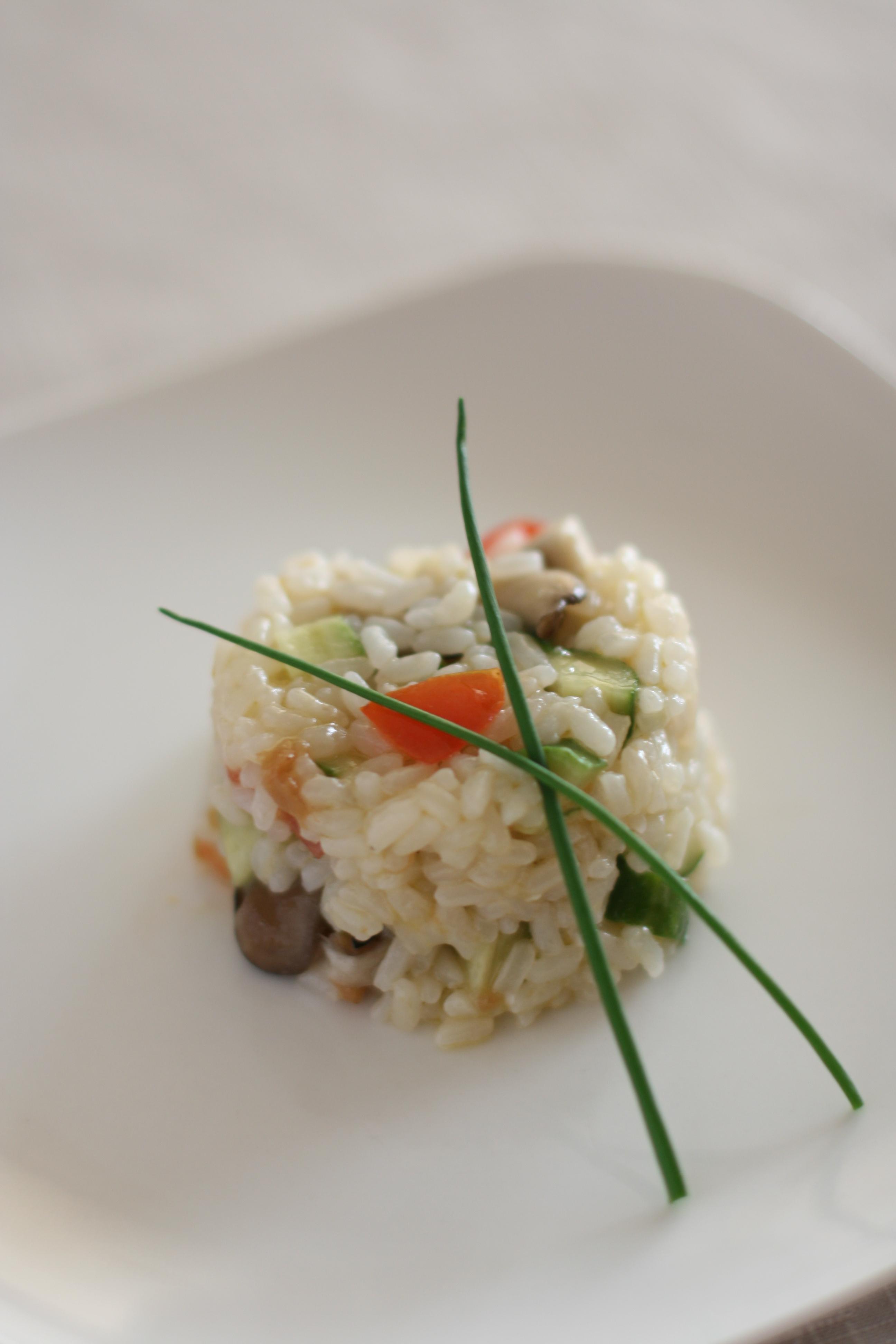 旨っカレー米の和風ライスサラダ