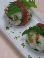 華麗舞de手まり寿司