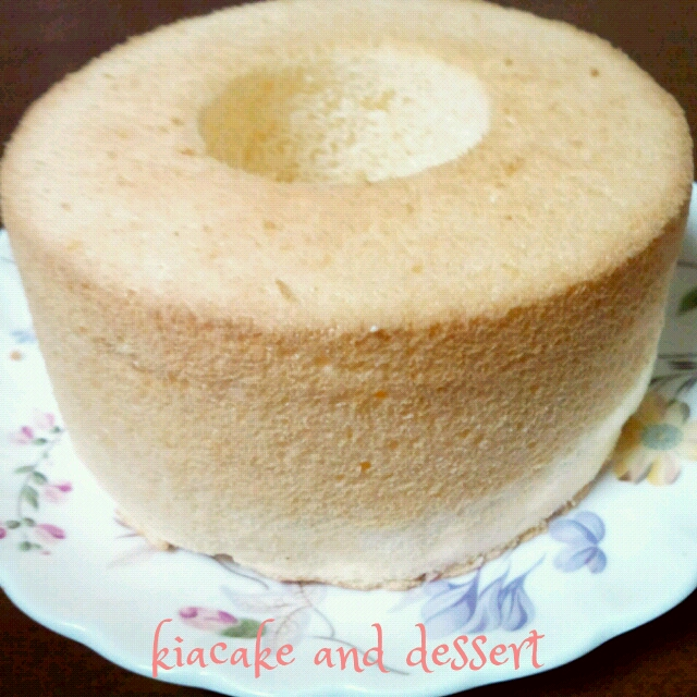 卵1個で覚えるシフォンケーキ