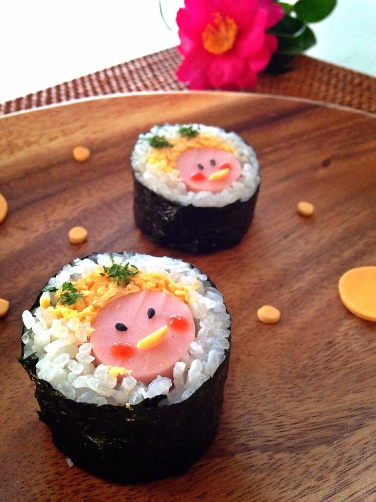 節分に♪鬼ちゃん巻き寿司