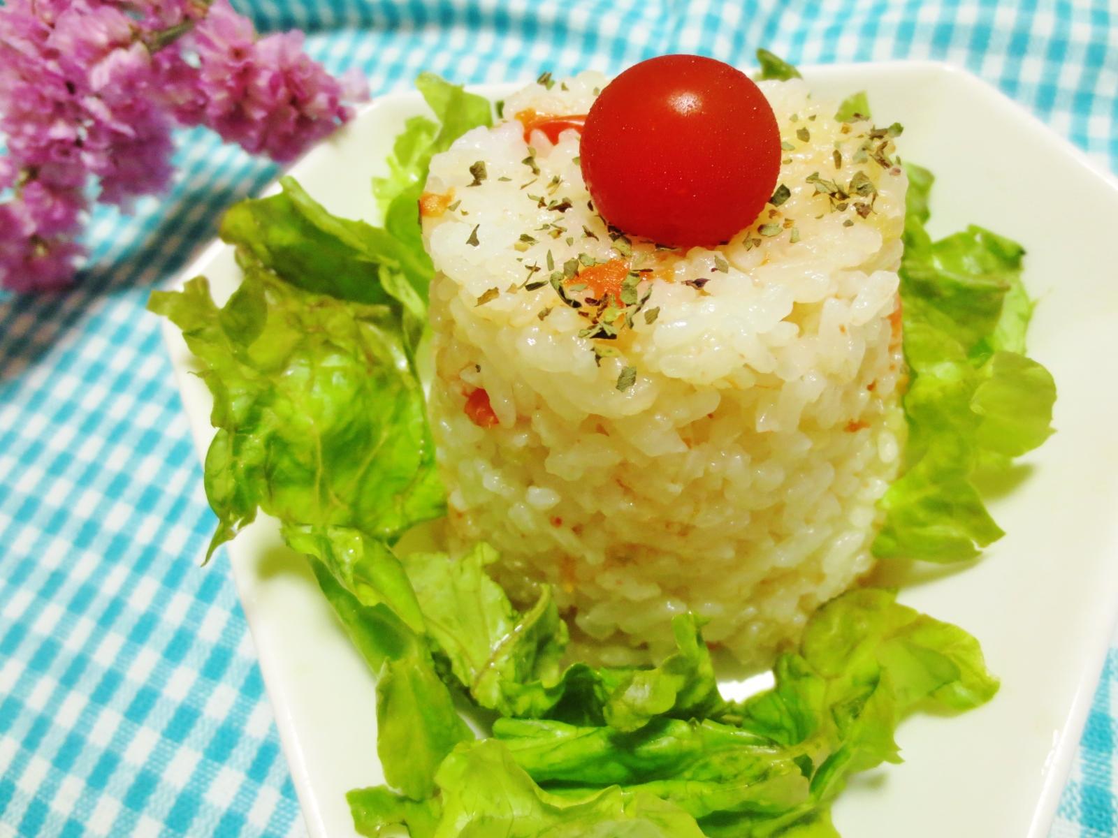 炊飯器de簡単トマト炊きライス