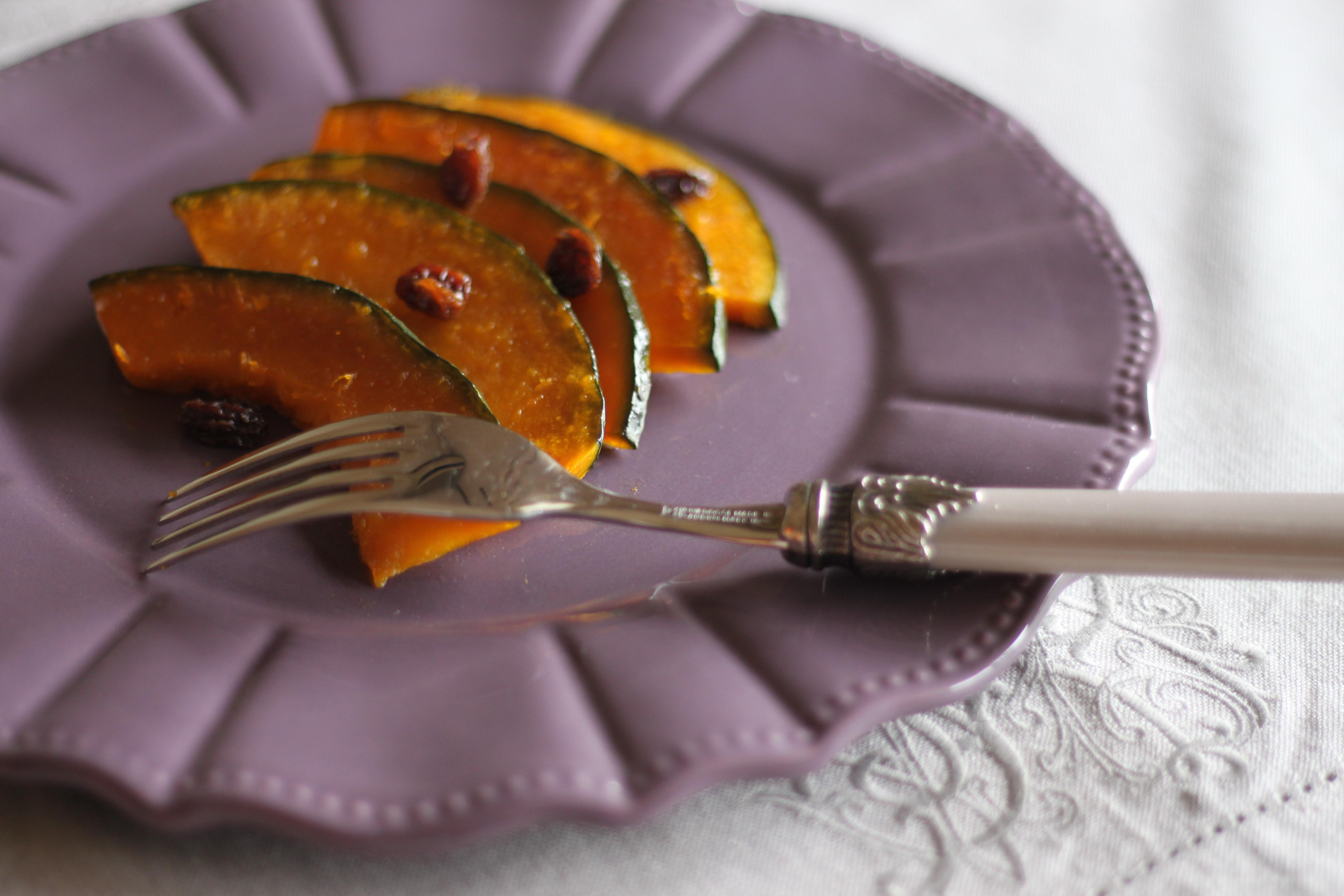 かぼちゃのハニーレモンマリネ