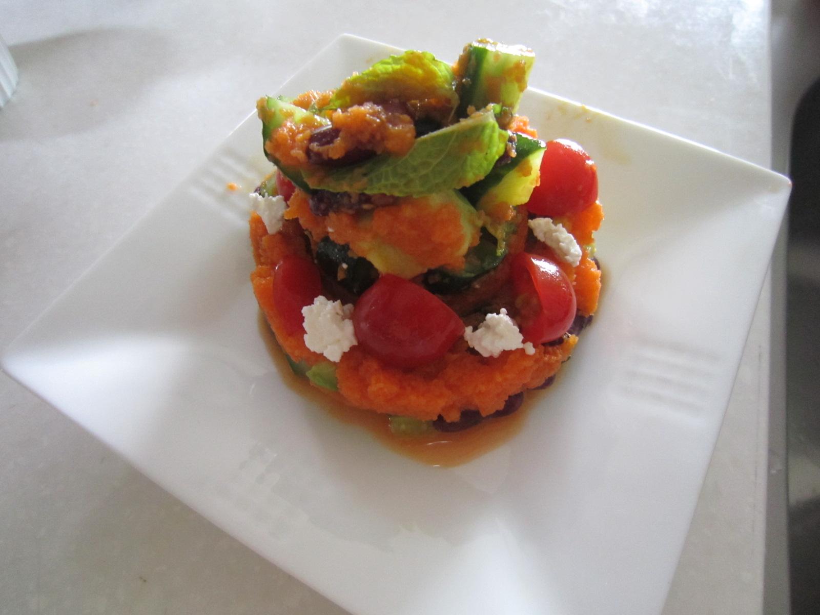 豆とアボカドの美肌サラダ