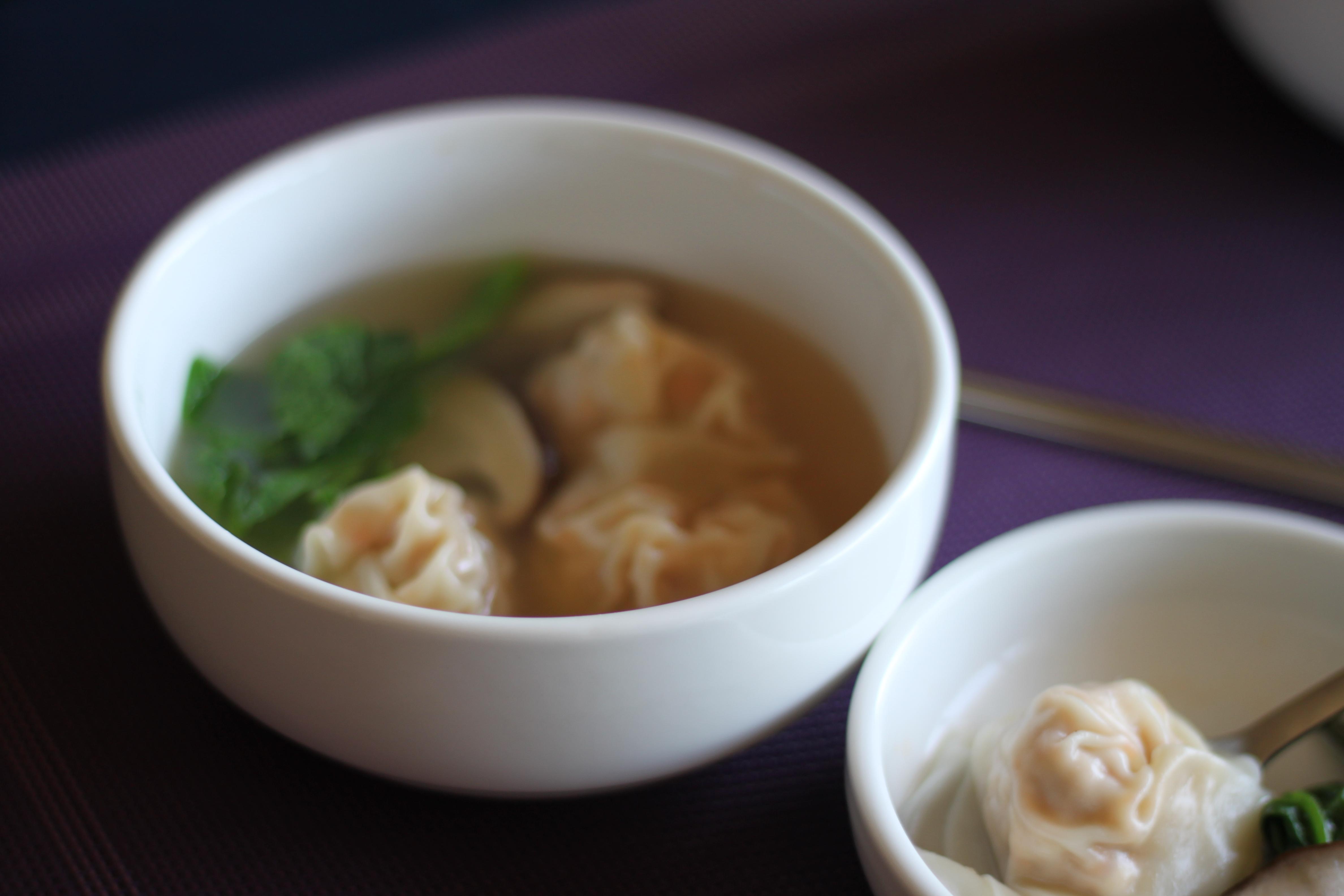 韓国餃子のスープ(マンドゥクッ)
