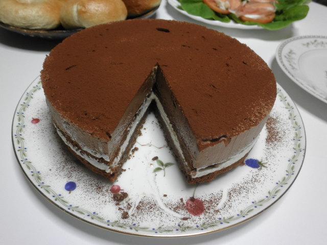 ダブルショコラケーキ