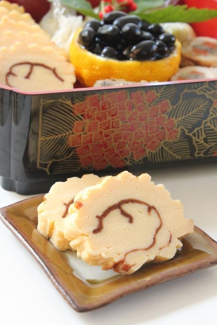 コンテチーズの伊達巻