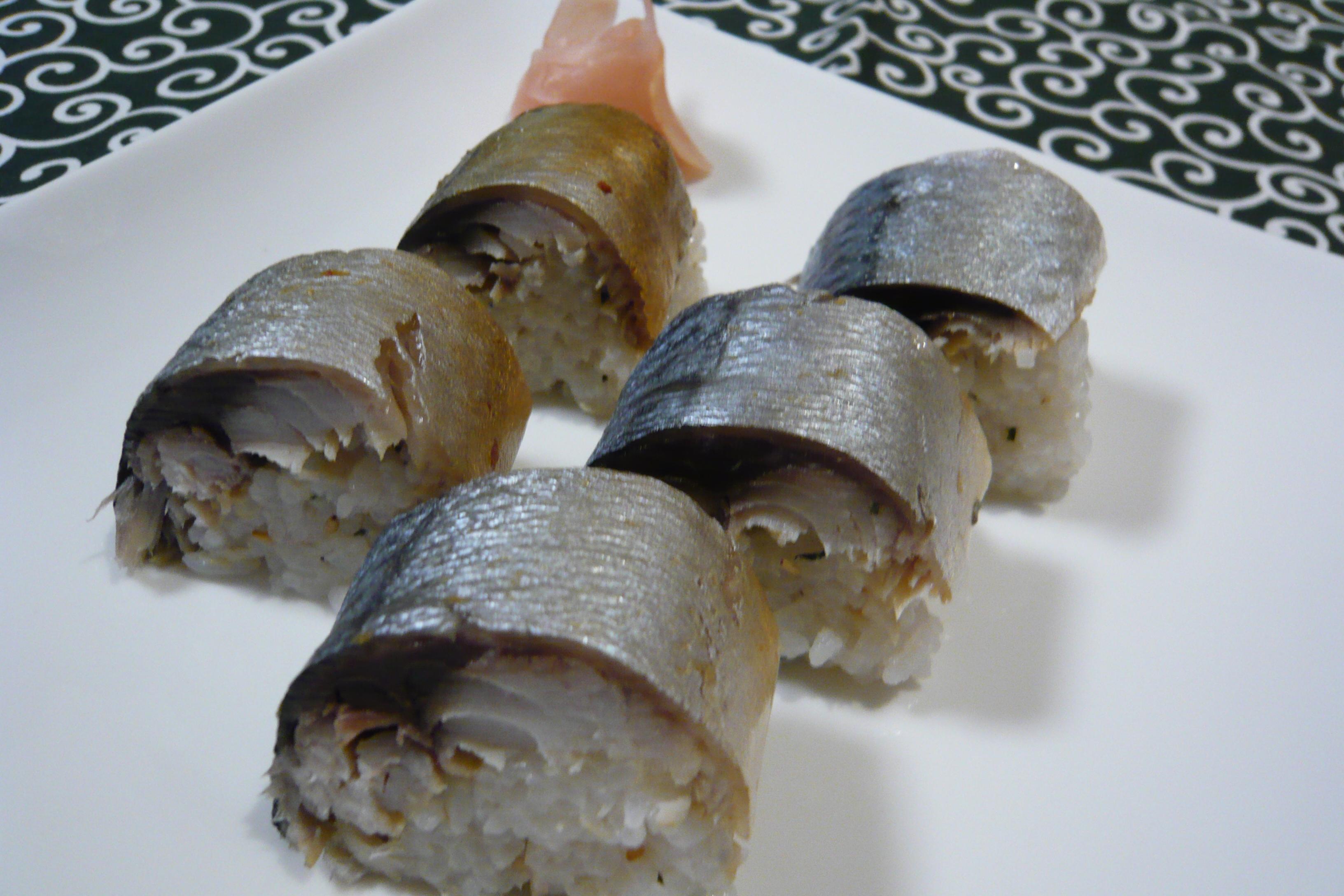 しめ鯖棒寿司