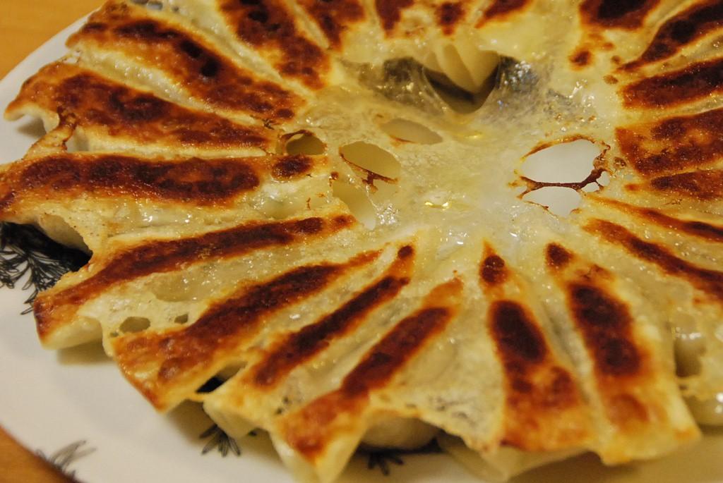 餃子のオーブン焼き