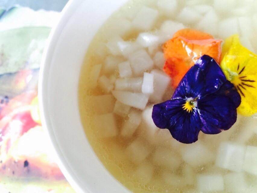 カブのマセドワーヌスープ