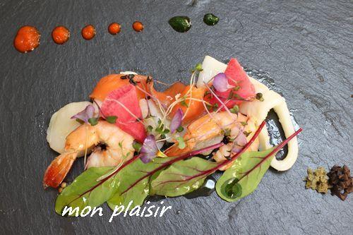 魚介のスパイスオイル煮