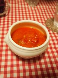 芽キャベツとツナのトマトスープ