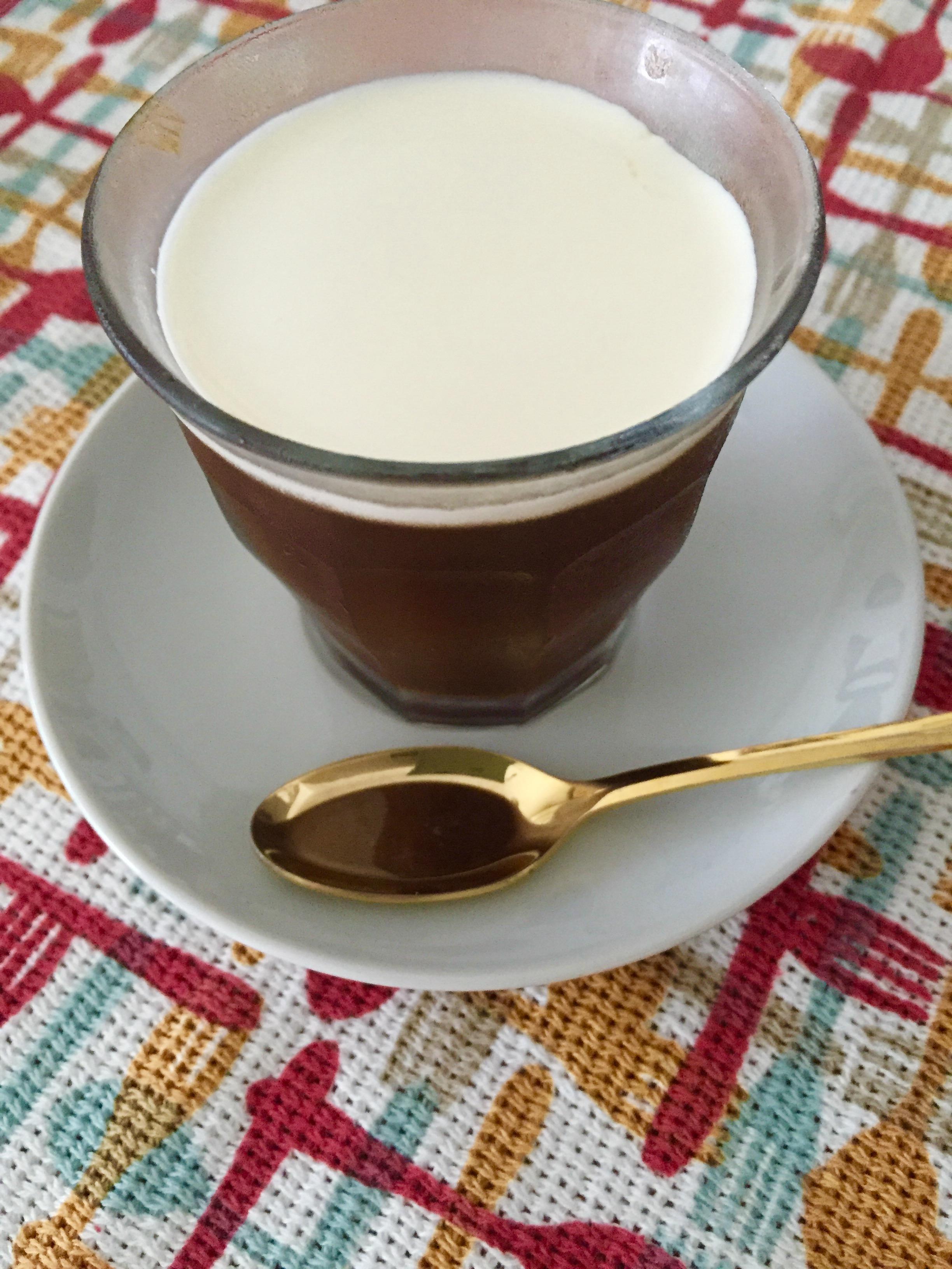 大人のコーヒーゼリー