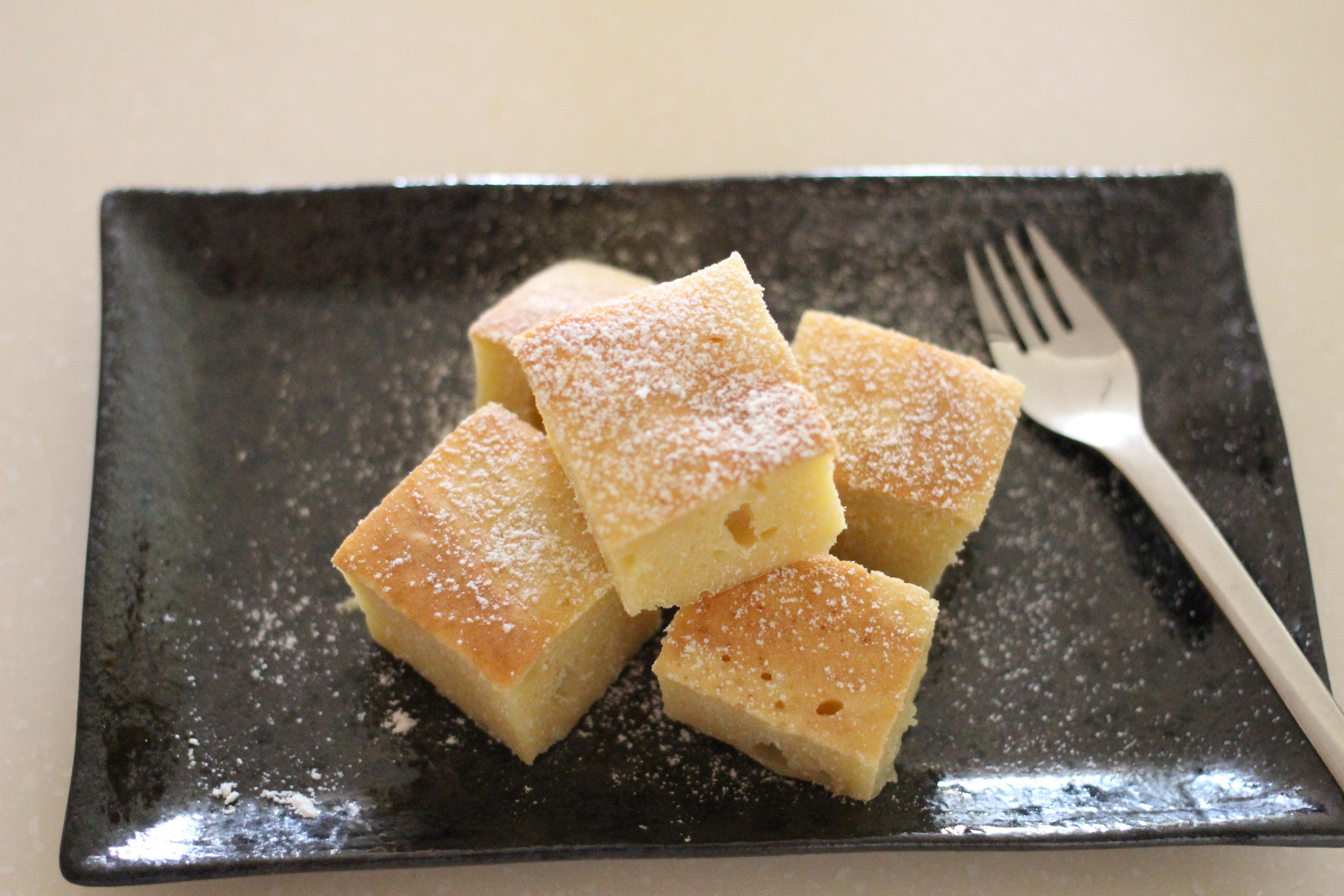 炊飯器で作るふわもちパンケーキ