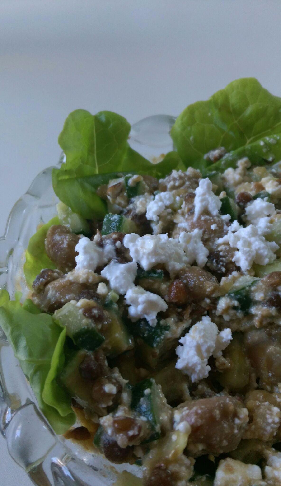 ダルーラ豆とチーズのサラダのレシピ、作り方(阿部 容子)