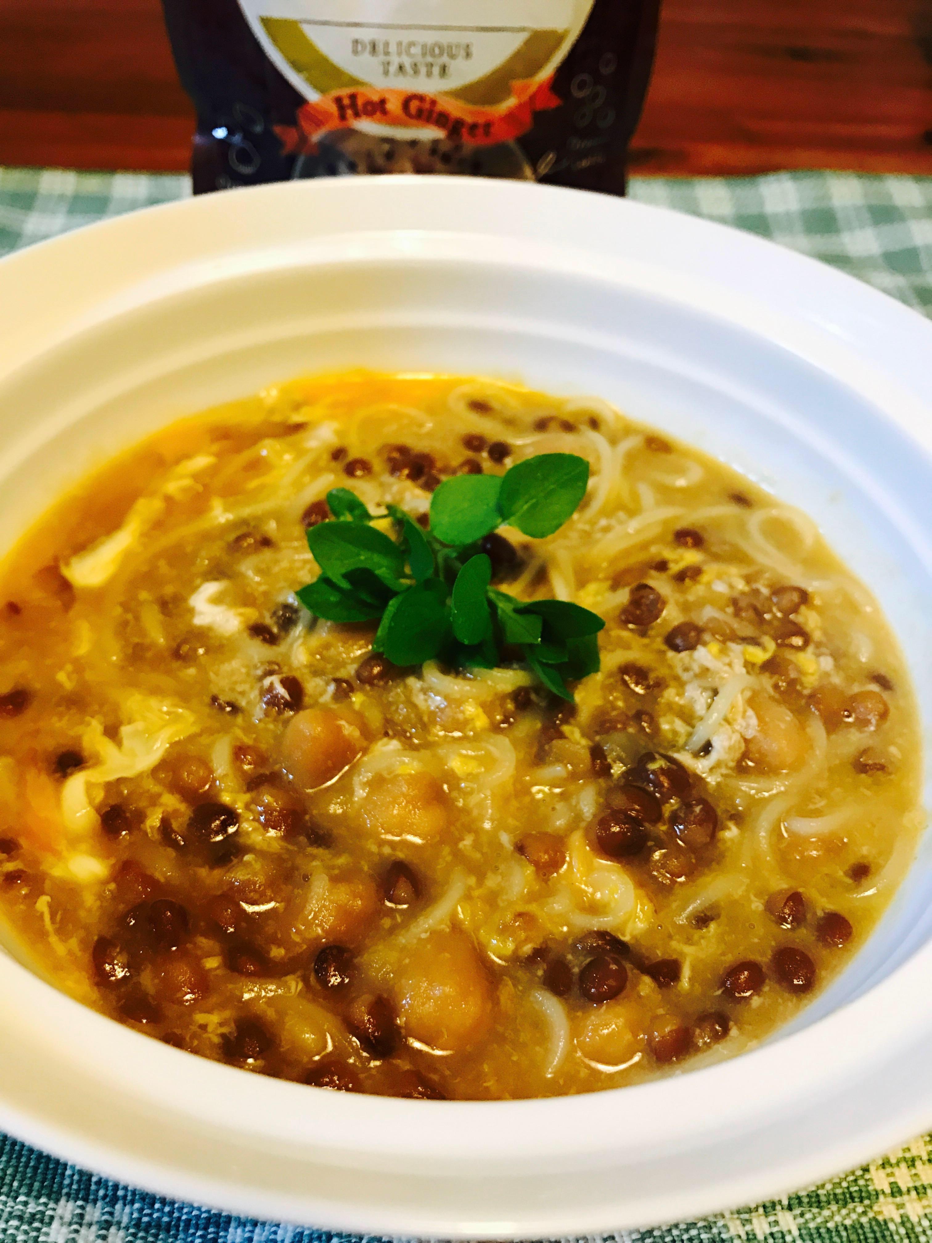 トロ~りたまごのジンジャー煮麺