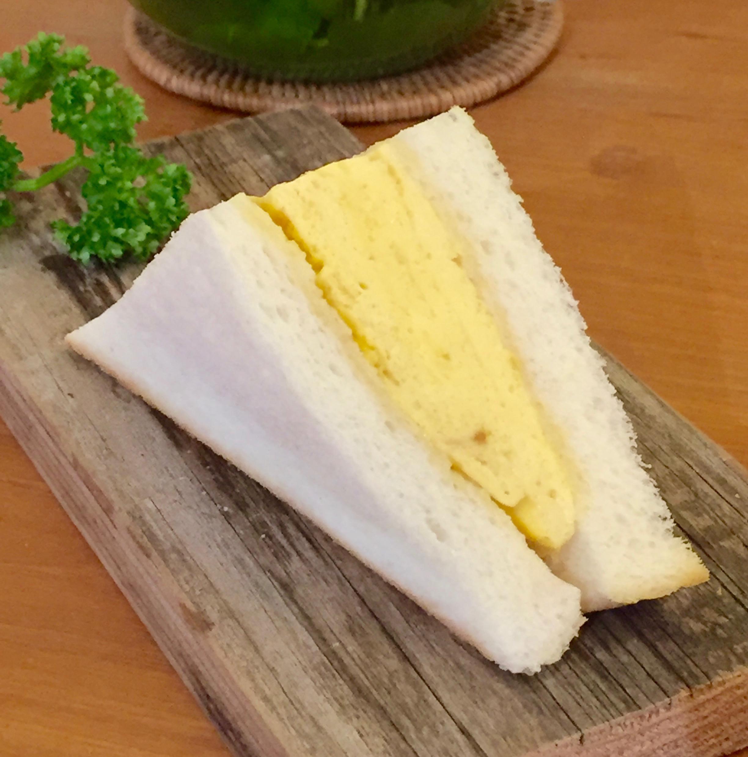 京都の出し巻き卵が入った!!だし巻きサンド