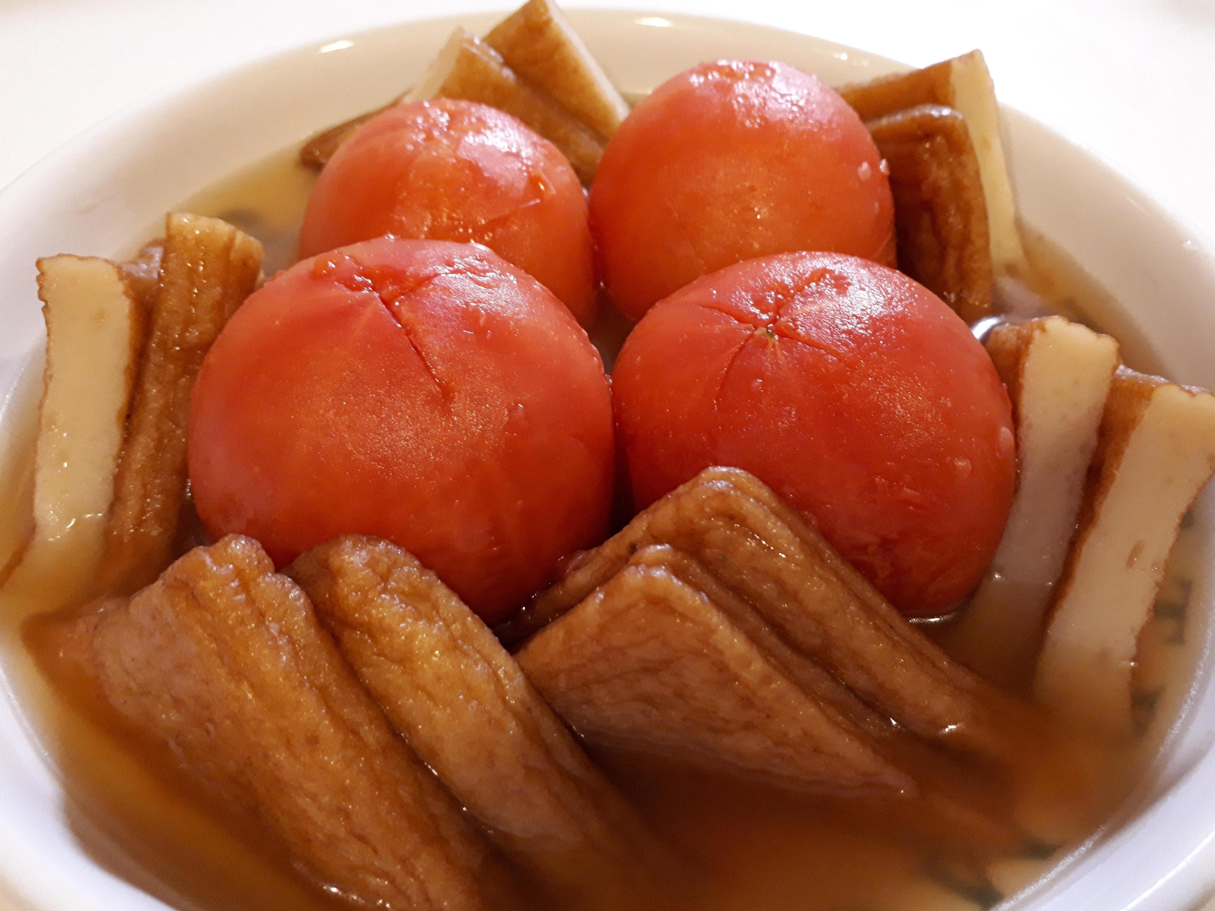 まるごとトマトおでん風