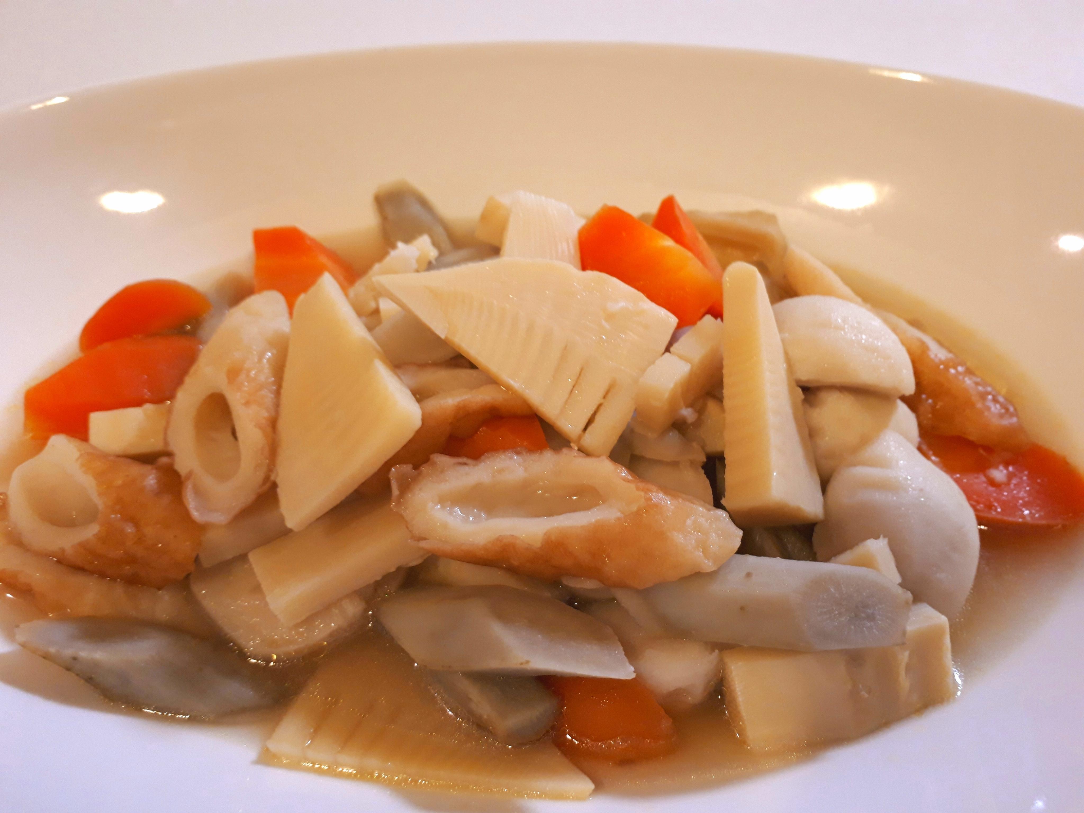 タケノコと根菜煮