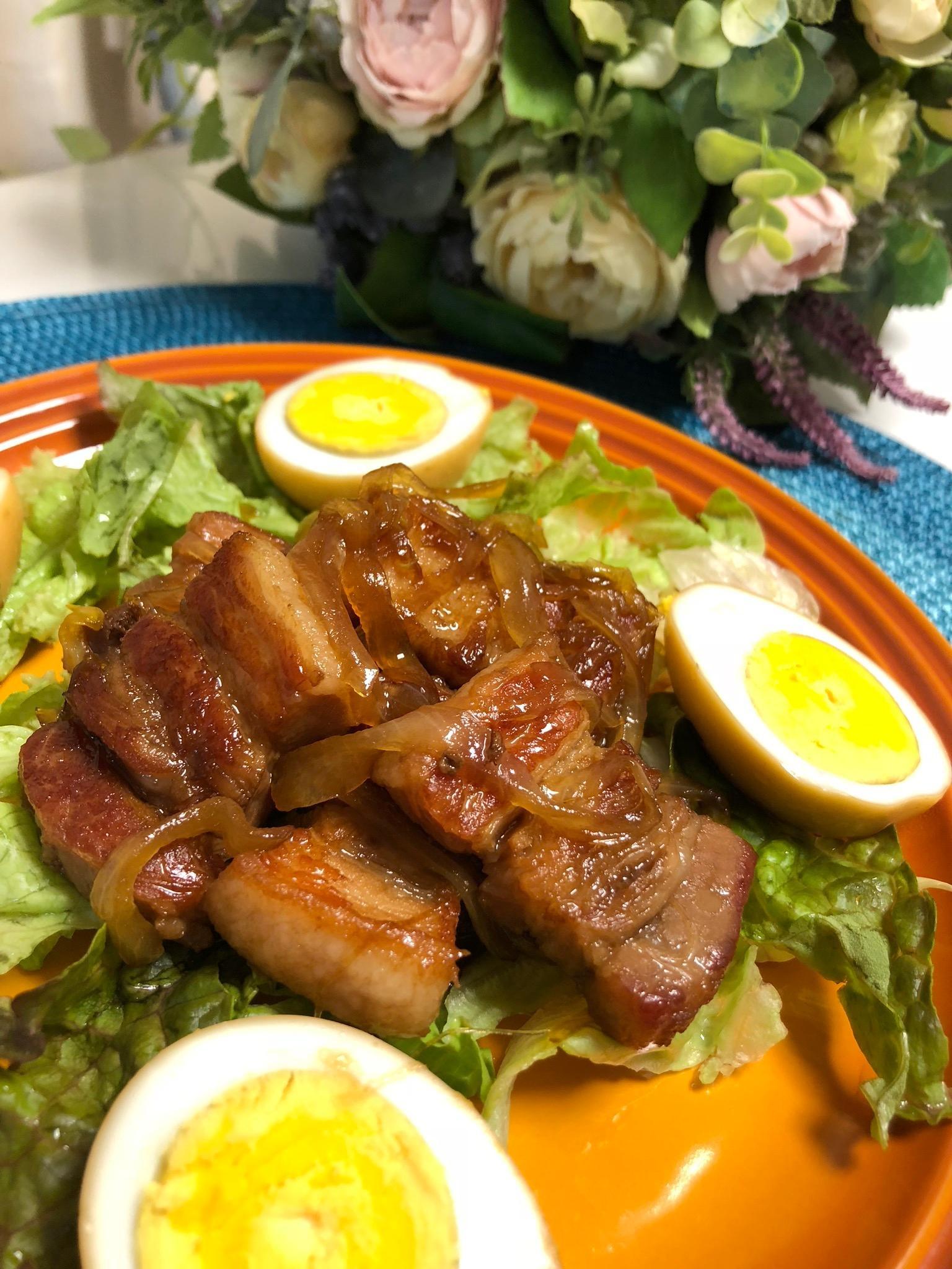 豚バラ肉のさっぱり煮