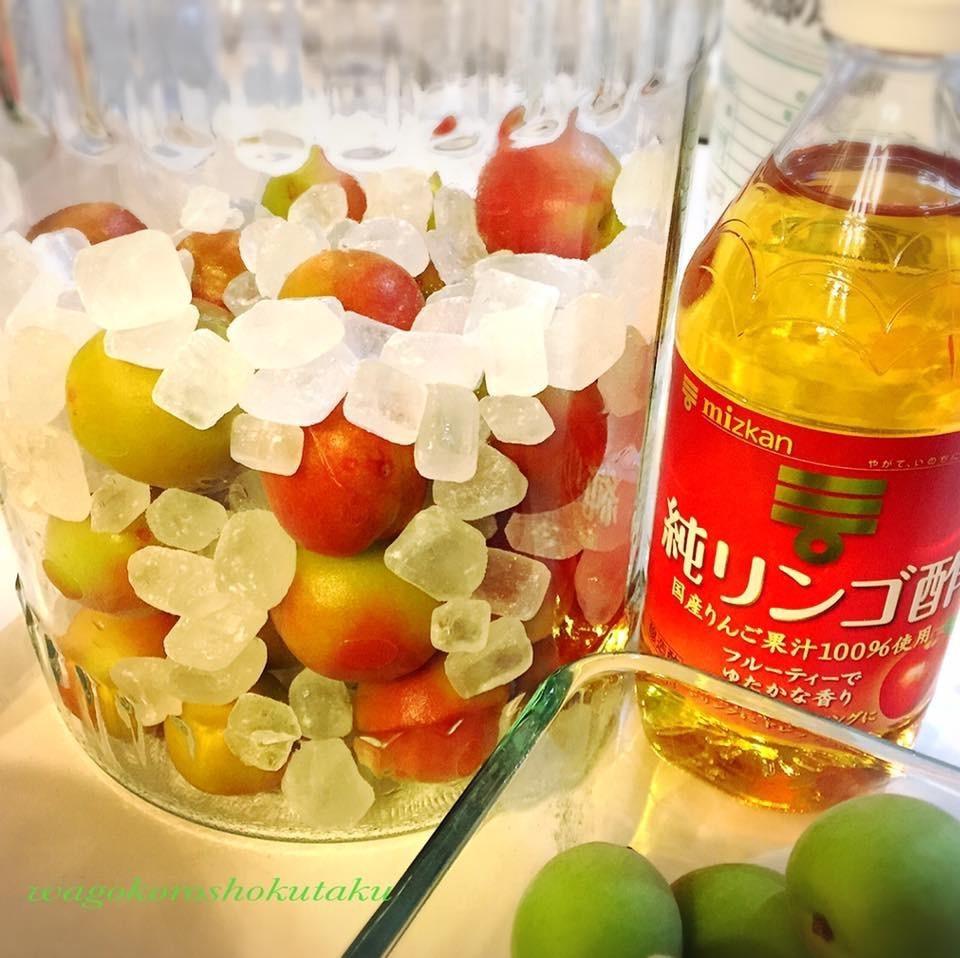 梅 シロップ レシピ 人気