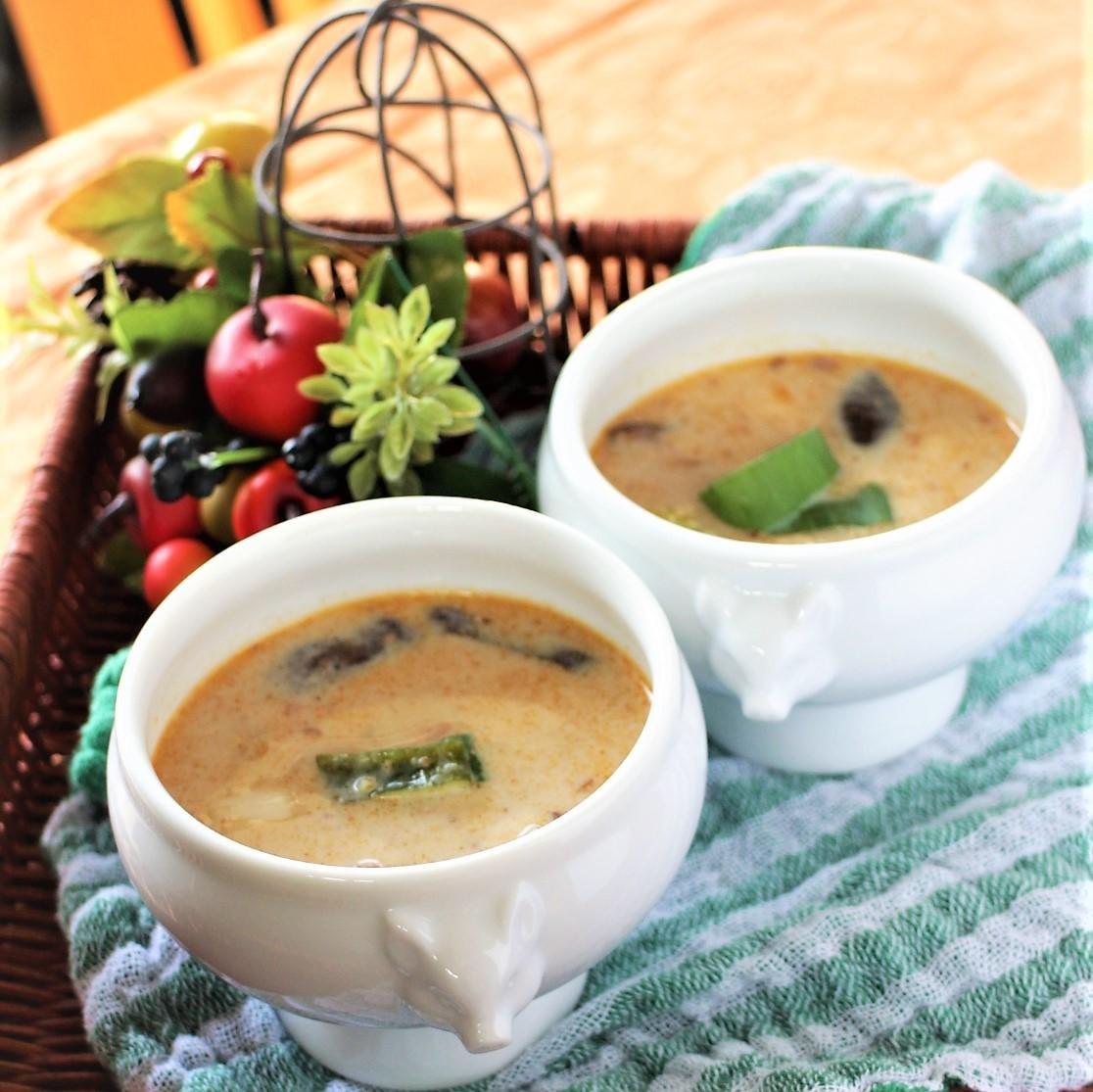 ミルク スープ ココナッツ