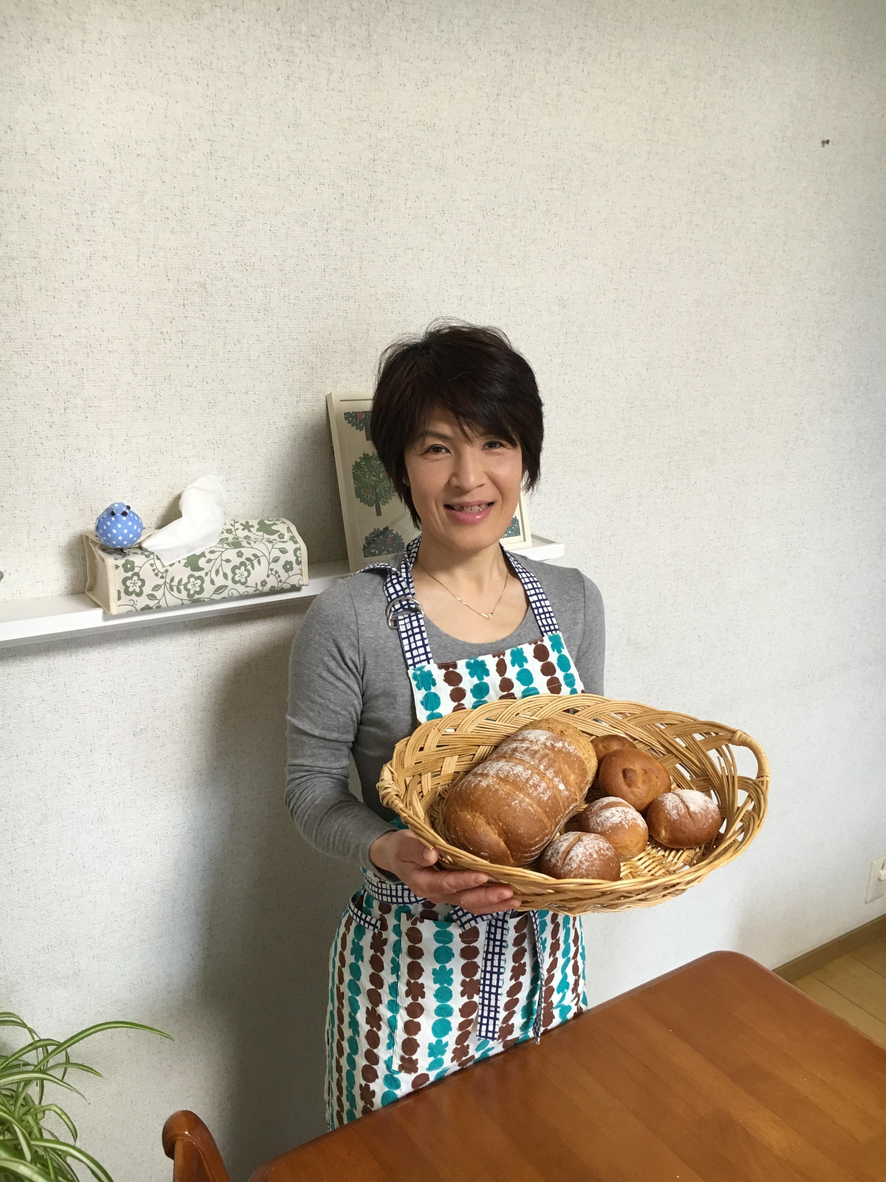 山形の美味しい手作り小麦と米粉パン、家庭料理の …